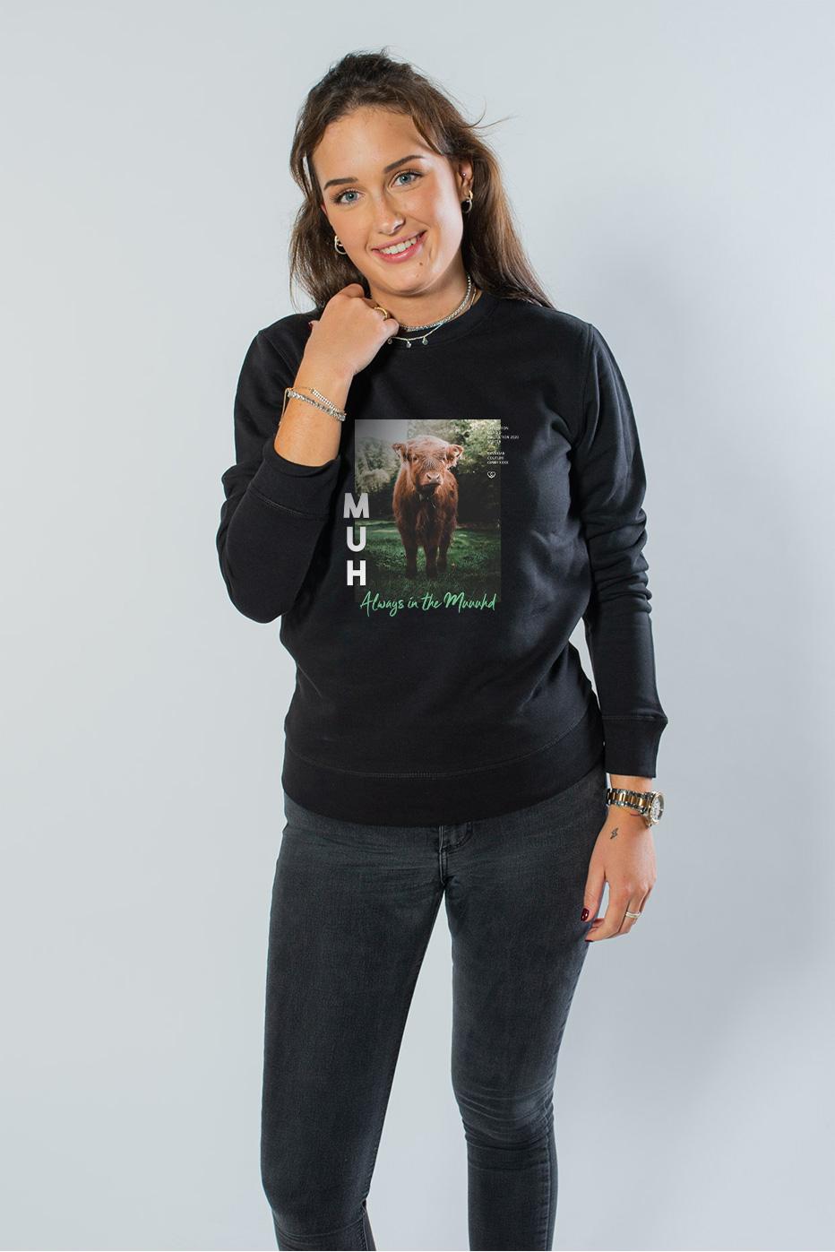 Muuuh Unisex Sweater