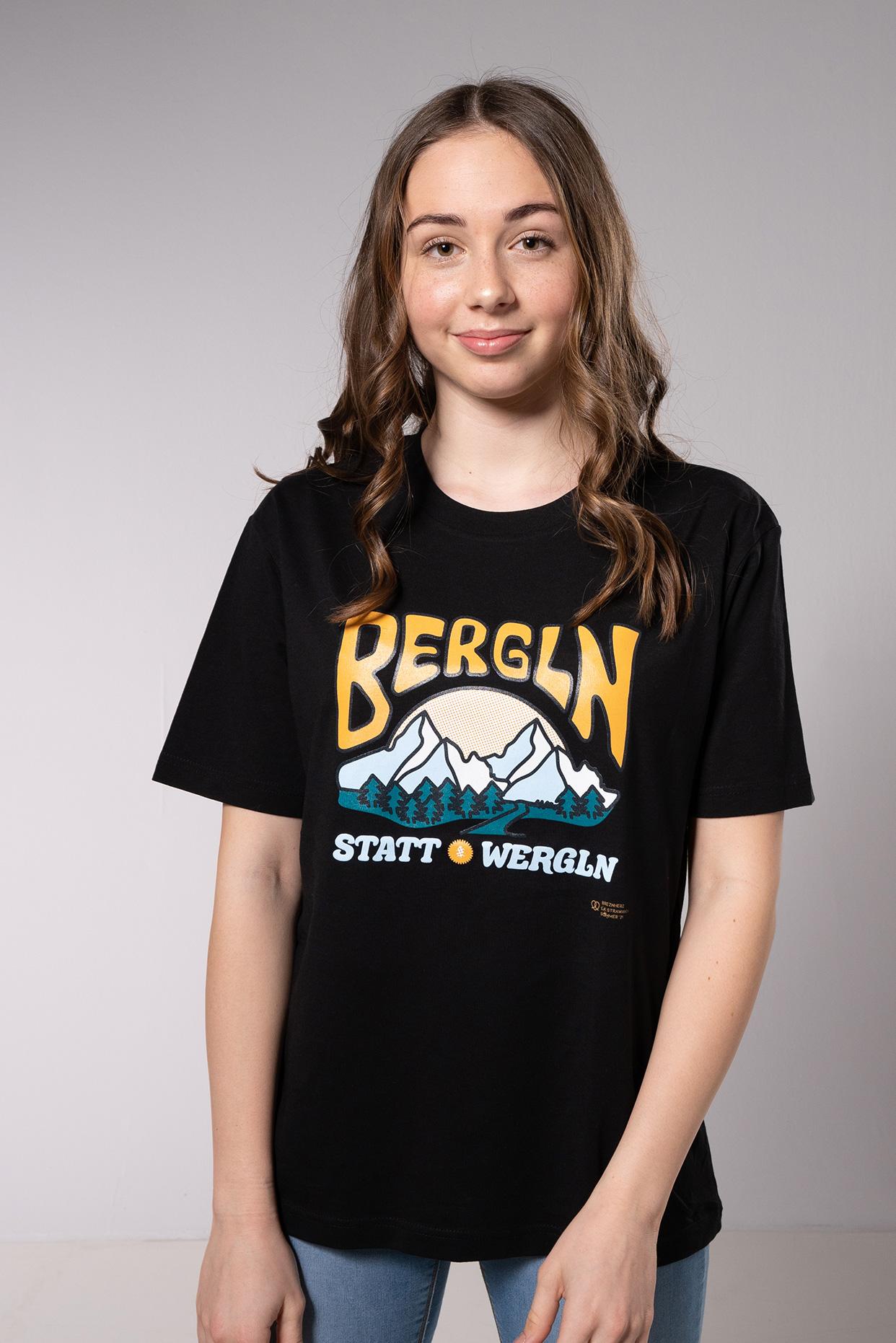 Bergln statt Wergln T-Shirt