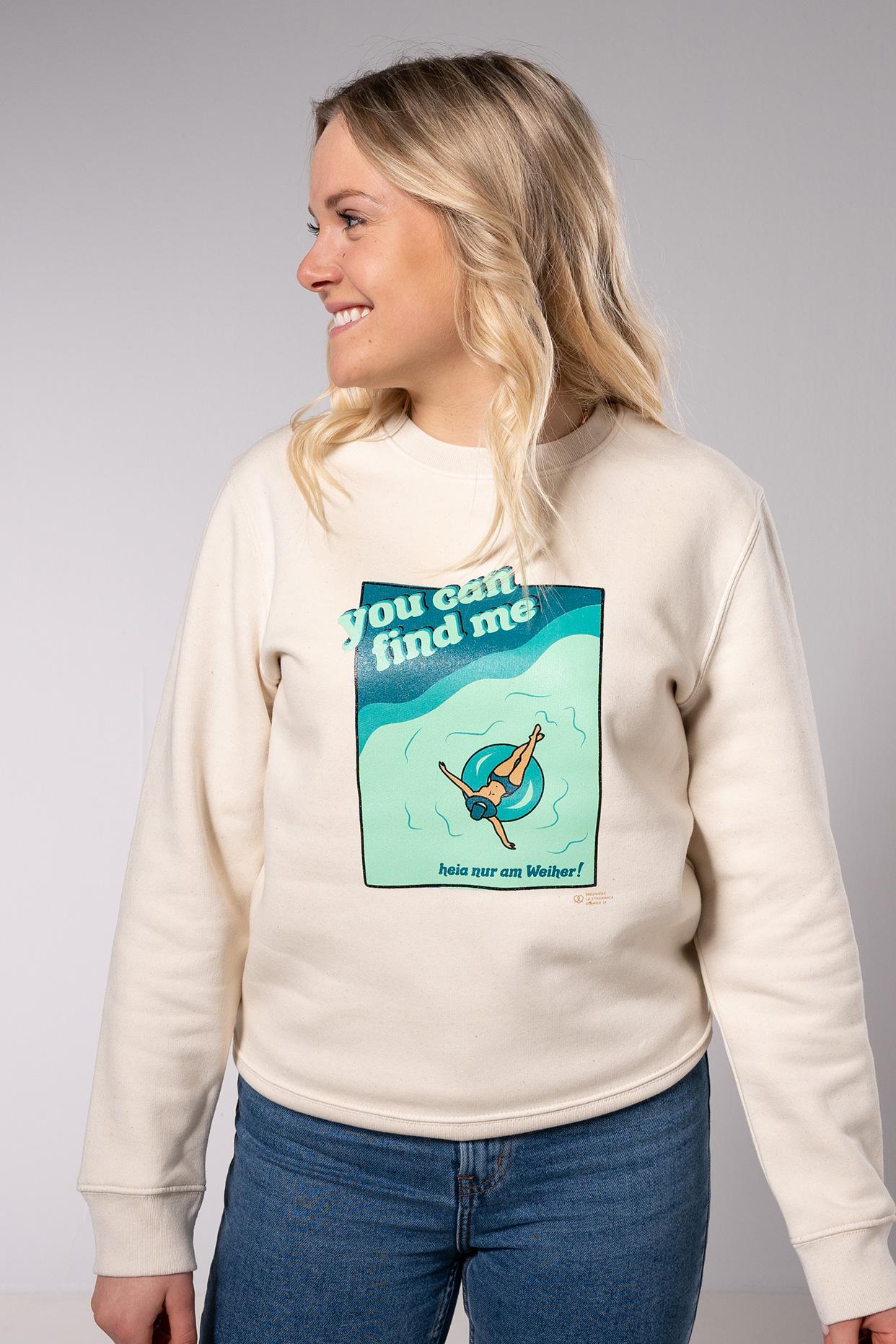 Heia nur am Weiher Sweater