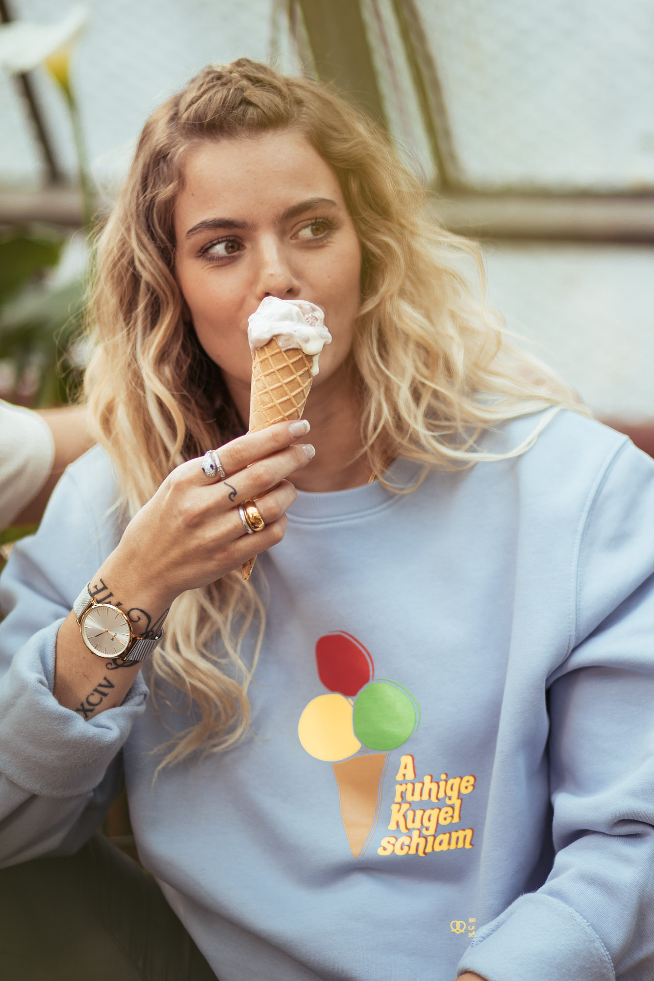 Ruhige Kugel Sweater