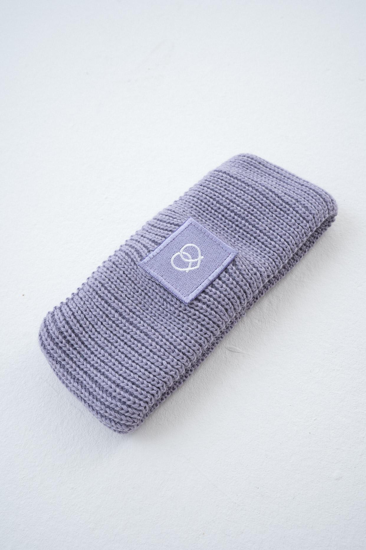 Stirnband Lavendel