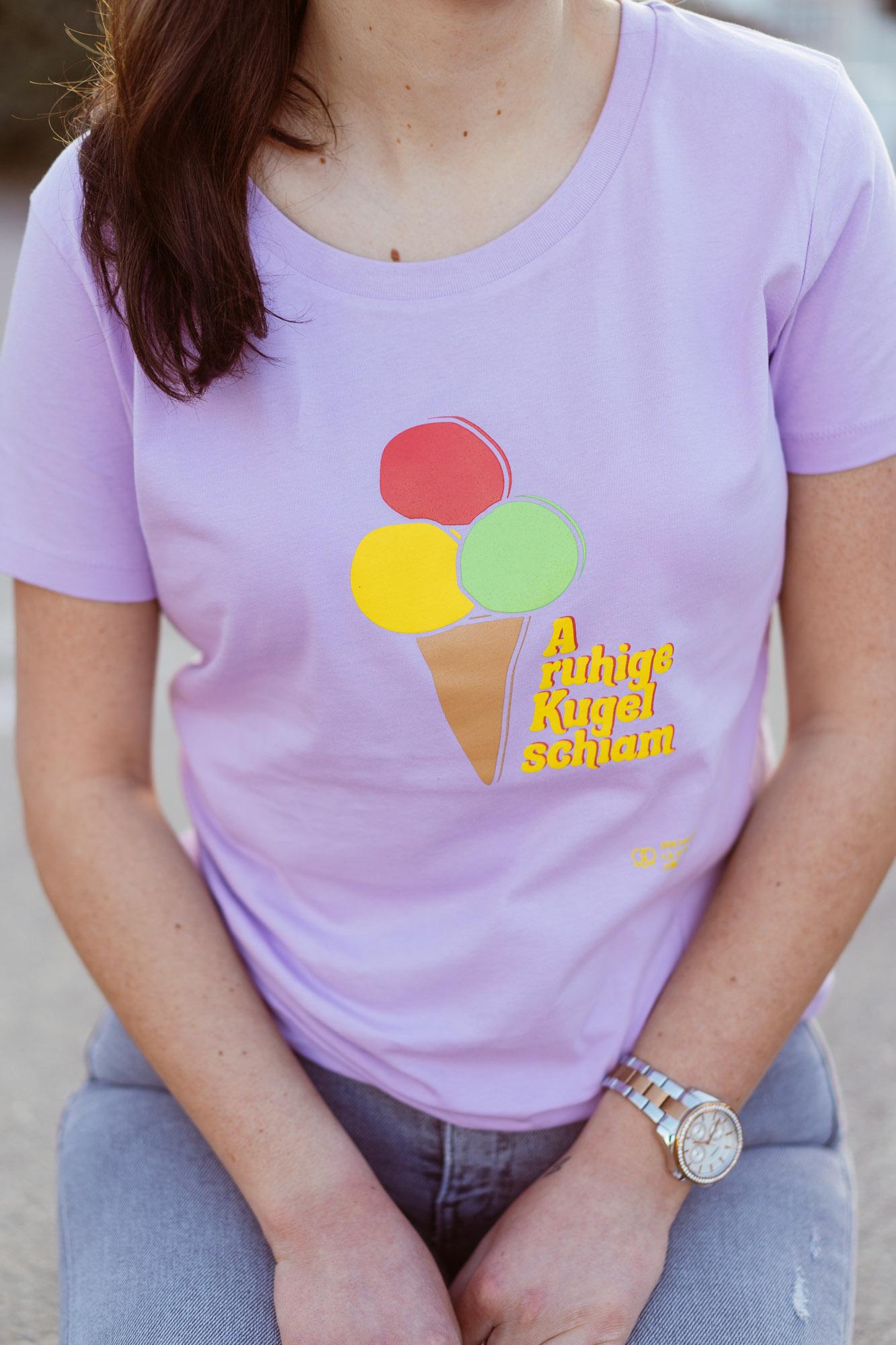 Ruhige Kugel Damen T-Shirt