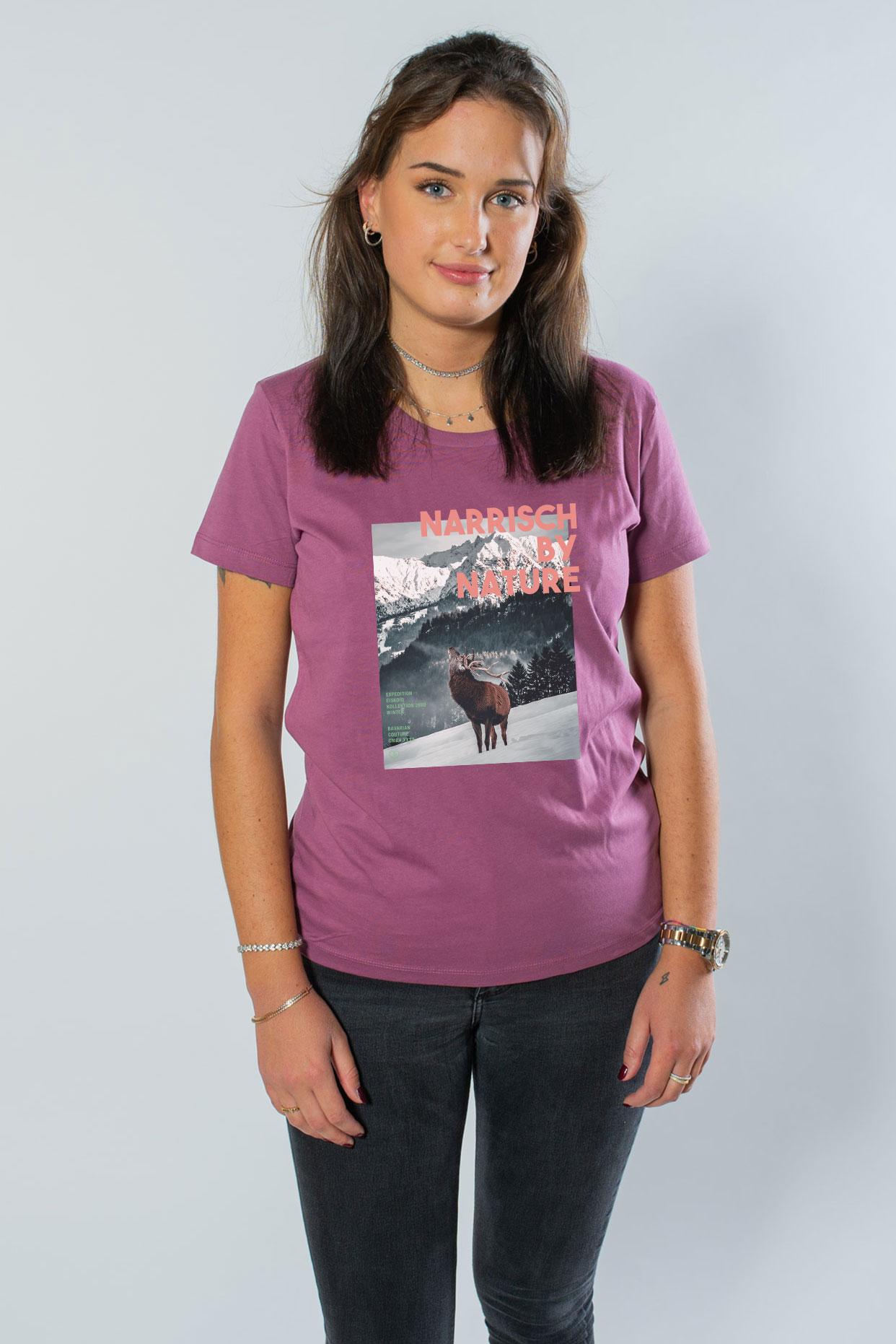 Hirsch Damenshirt