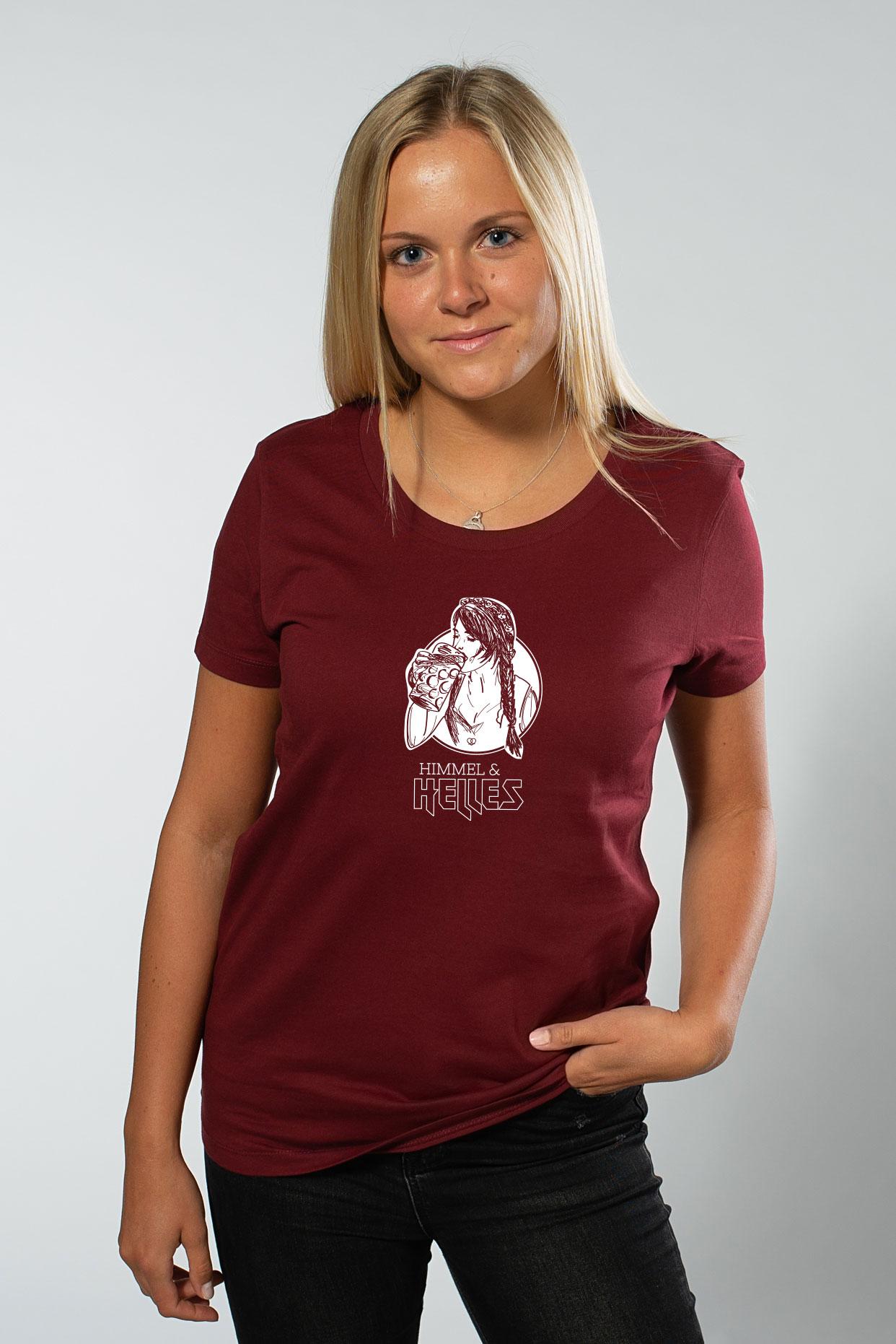 Himmel & Helles Damenshirt