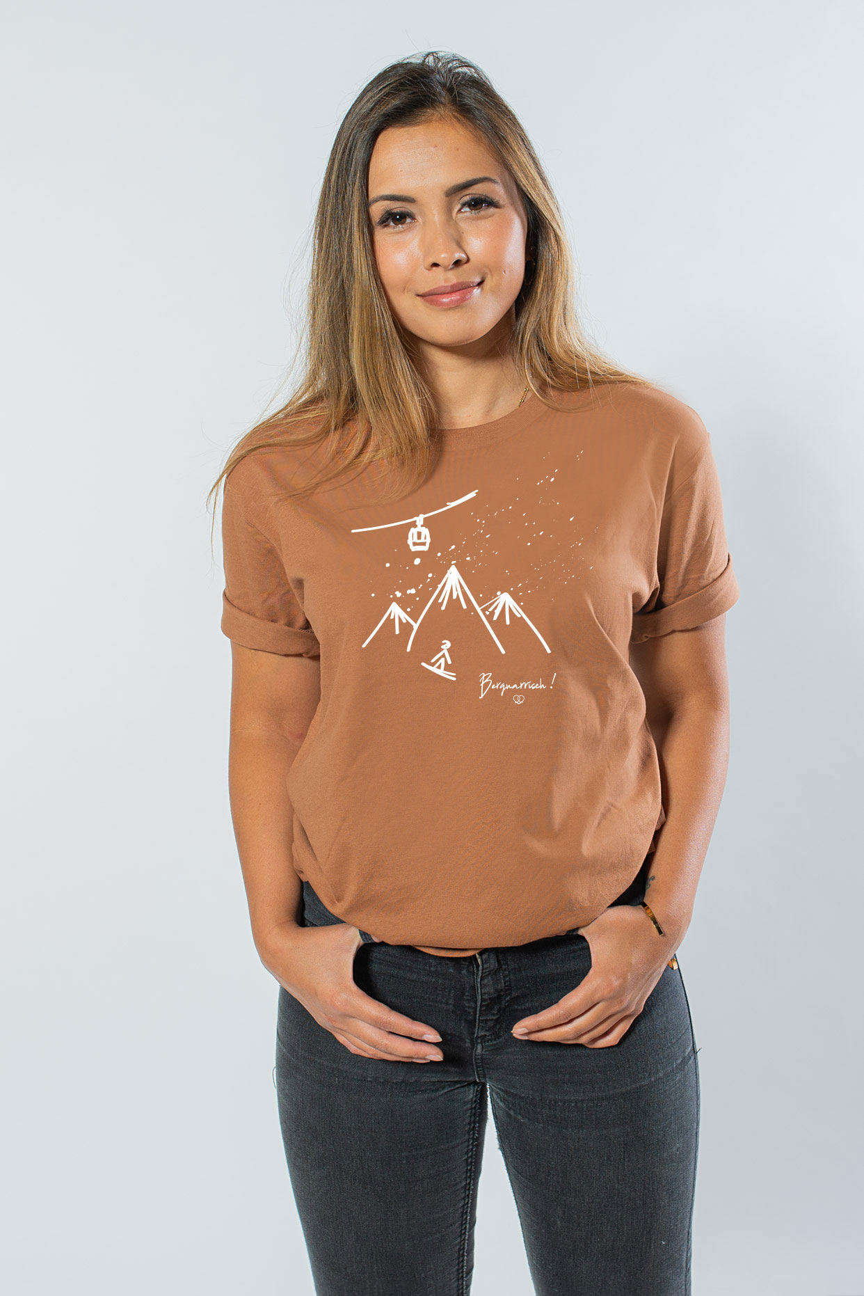 Bergnarrisch Unisex T-Shirt