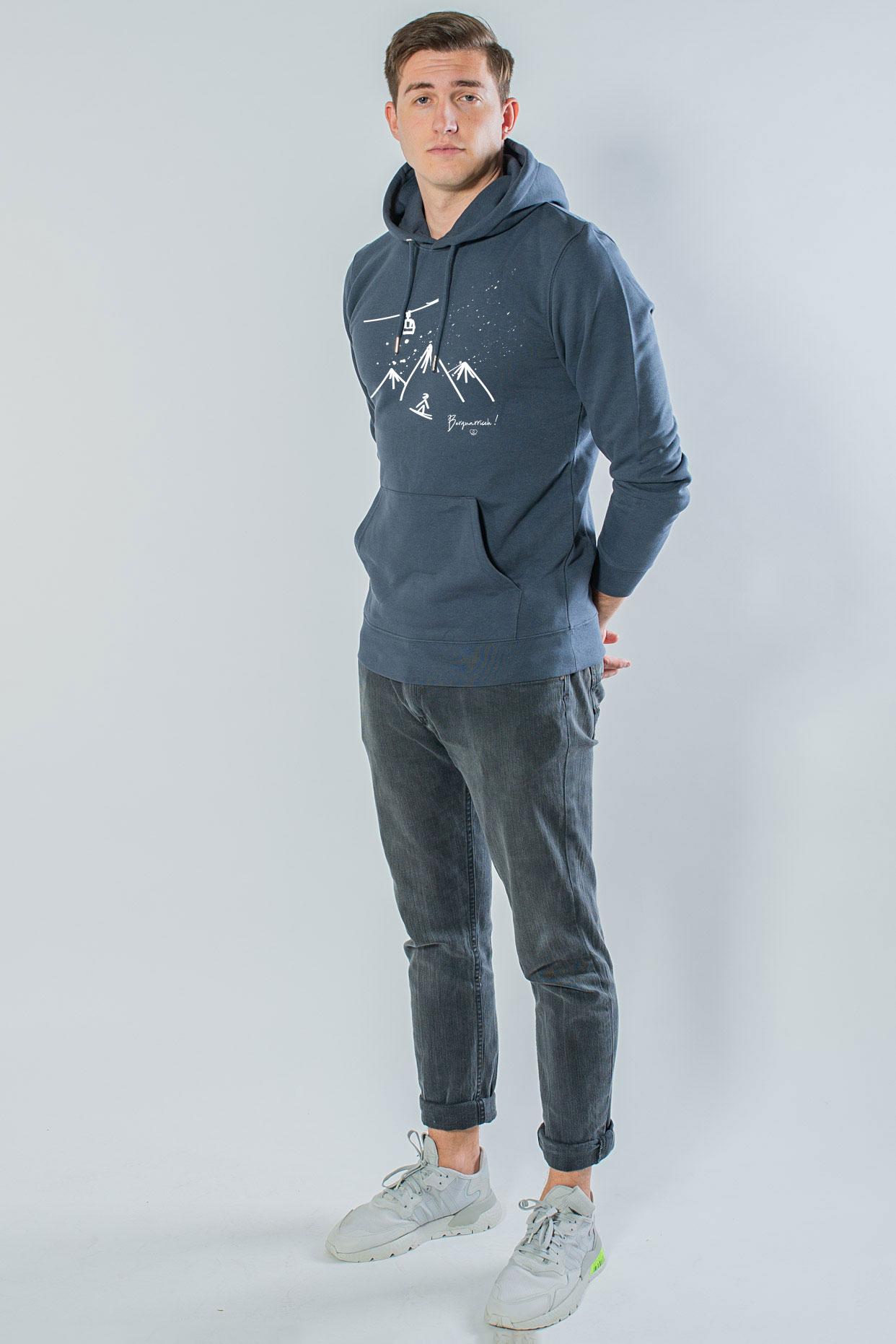 Bergnarrisch Unisex Hoodie