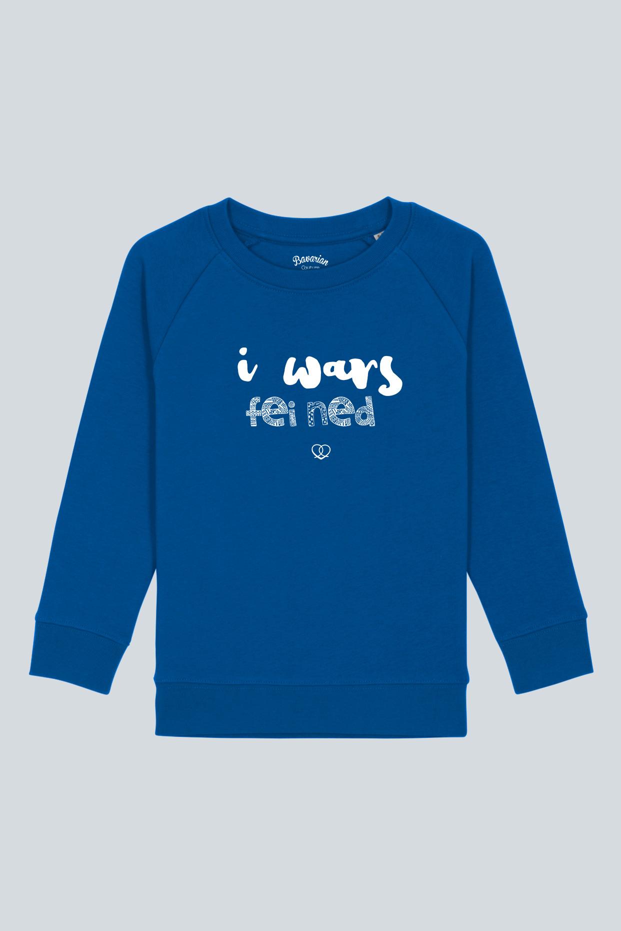 Kidssweater I wars fei ned